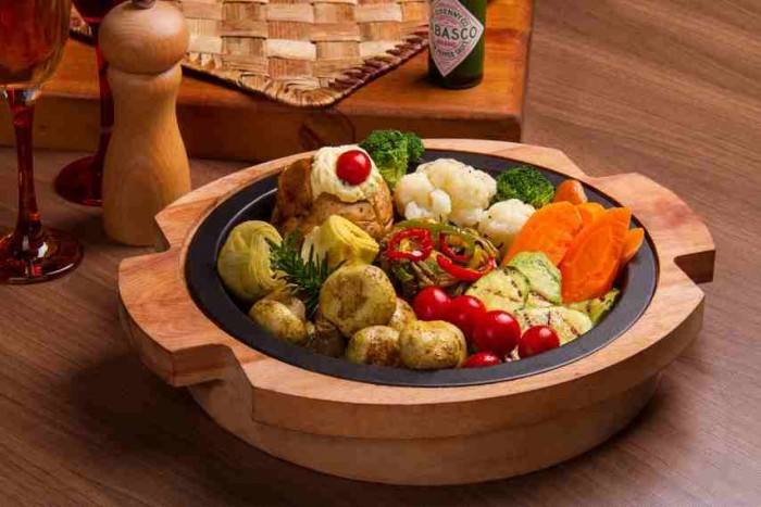 بشقاب سبزیجات
