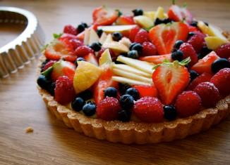 طرز تهیه تارت میوه